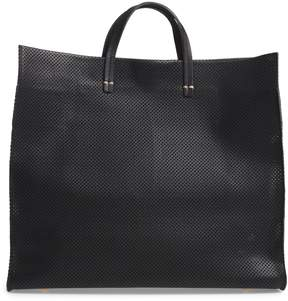 Clare Vivier Simple Perforated Leather Tote