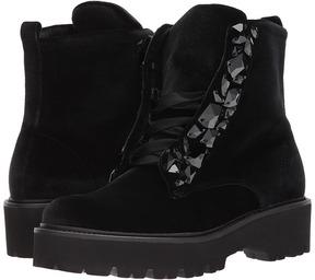 Kennel + Schmenger Kennel & Schmenger - Bobby Velvet Combat Women's Boots