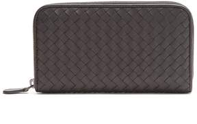 Bottega Veneta Intrecciato zip-around leather wallet