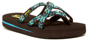 Teva Olowahu Hazel Chocolate Sandal (Little Kid)