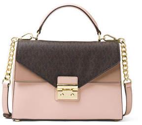MICHAEL Michael Kors Sloan Medium Colorblock Satchel Bag