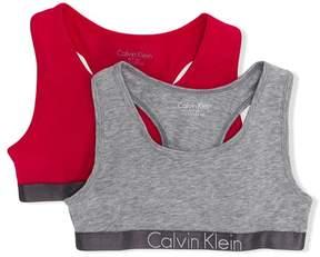Calvin Klein Kids 2 piece sports bras