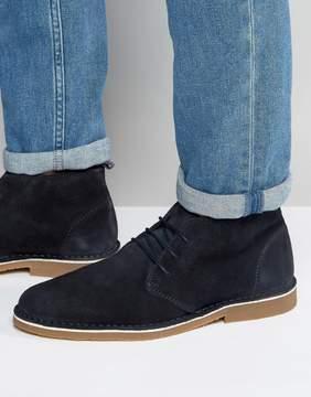 Selected Royce Suede Desert Boots