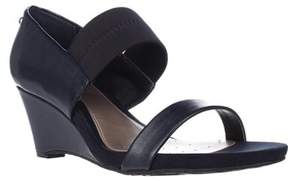 Alfani A35 Maryka Wedge Sandals, Ink.