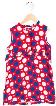 Marni Girls' Sleeveless Polka Dot Dress w/ Tags