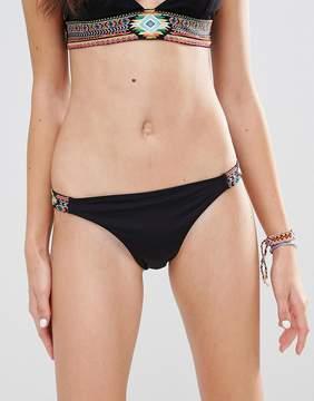 Undiz Embroidered Bikini Bottom