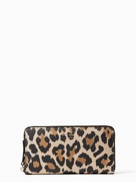 Kate Spade Wallet Hyde Lane Leopard Michele - LEOPARD - STYLE