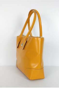 Dooney & Bourke Mustard Structured Tote Bag