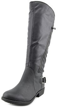 American Rag Asher Wide Calf Round Toe Synthetic Knee High Boot.