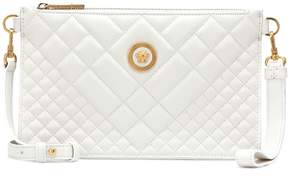 Versace Quilted leather shoulder bag