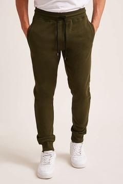21men 21 MEN Fleece Knit Jogger Pants