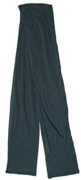 Balenciaga Green Knit Scarf