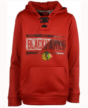 Reebok Nhl Chicago Blackhawks Hockey Hoodie, Little Boys (4-7)
