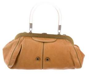 Sonia Rykiel Leather Frame Bag