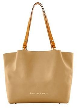 Dooney & Bourke City Flynn Shoulder Bag. - MUSHROOM - STYLE