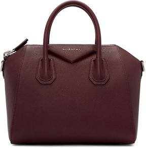 Givenchy Burgundy Small Antigona Bag