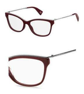 Marc Jacobs Eyeglasses 167 0LHF Opal Burgundy