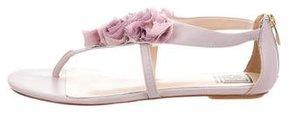 Pour La Victoire Floral Thong Sandals w/ Tags