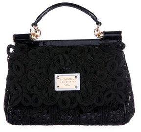 Dolce & Gabbana Miss Sicily Passementerie Satchelsa - BLACK - STYLE