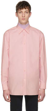 Raf Simons Pink Oversized Joy Division Substance Shirt