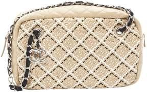 Chanel Camera Beige Patent leather Handbag