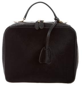 Mark Cross Ponyhair Large Laura Camera Bag