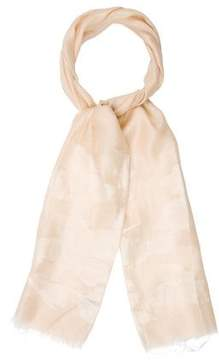 Loro Piana Embroidered Cashmere-Blend Scarf