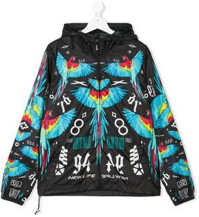 Marcelo Burlon County of Milan Kids parrot print jacket