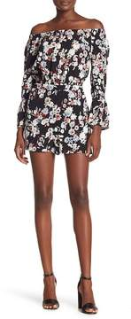 Cupcakes And Cashmere Gia Off-the-Shoulder Floral Dress