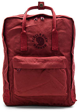 Fjallraven Re-Kanken in Burgundy.