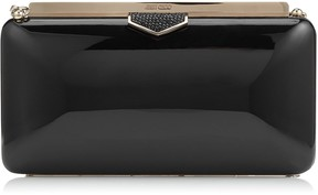 Jimmy Choo ELLIPSE Black Acrylic Clutch Bag