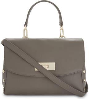 DKNY Chelsea medium leather satchel