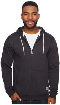 DC Rebel Fleece Zip Hoodie Men's Clothing