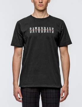 Saturdays NYC Bar Across S/S T-Shirt