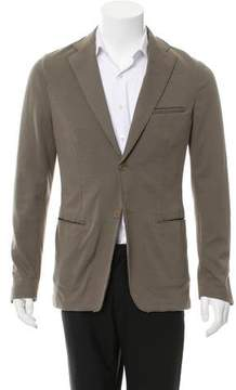 Calvin Klein Collection 2012 Deconstructed Two-Button Blazer
