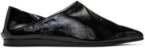 McQ Black Liberty Fold Loafers