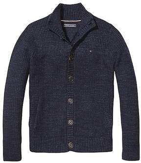 Tommy Hilfiger Th Kids Structure Cardigan