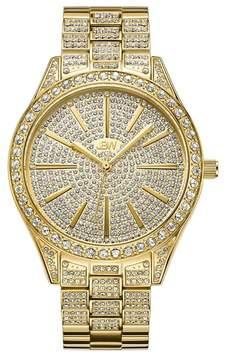 JBW Women's 18K Gold Stainless Steel Cristal Diamond Watch - 0.12 ctw