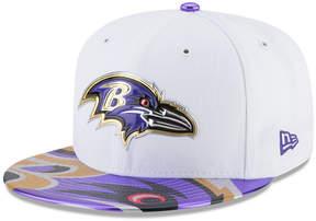 New Era Boys' Baltimore Ravens 2017 Draft 59FIFTY Cap
