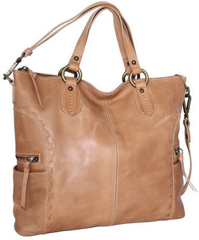 Women's Nino Bossi Adela Leather Satchel