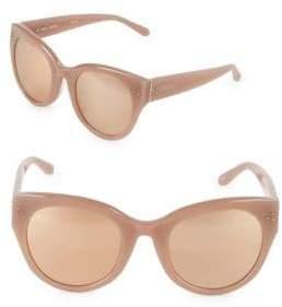 Linda Farrow 56MM Butterfly Sunglasses