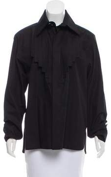 Chanel Long Sleeve Button-Up Top w/ Tags