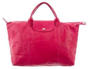 Longchamp Medium Le Pliage Cuir Bag