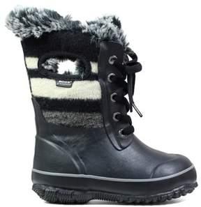 Bogs Kids' Arcata Wool Stripe Winter Boot Pre/Grade School