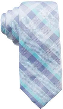 Ryan Seacrest Distinction Men's Messina Plaid Silk Slim Tie, Created for Macy's