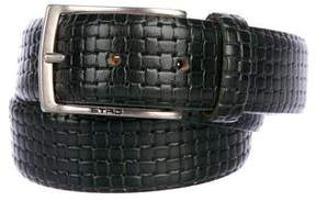 Etro Basketweave Leather Belt