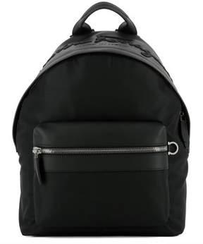 Salvatore Ferragamo Men's Black Fabric Backpack.