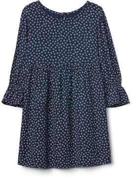 Gap Floral Bell-Sleeve Dress
