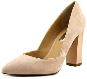INC International Concepts Womens Eloraa Suede Pointed Toe Classic Pumps.