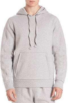 Les Benjamins Men's Solid Hoodie with Kangaroo Pockets